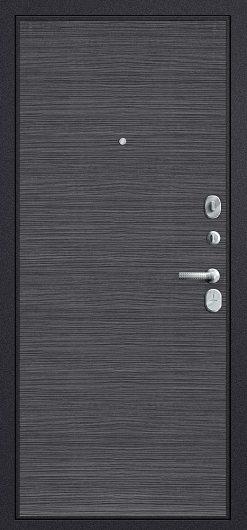 Изображение Входная дверь Т3-300 Black Wood/Black Wood глухая