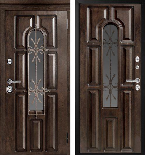 Изображение Входная дверь МетаЛюкс М 60 с капителью