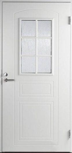 Изображение Входная дверь Jeld-Wen модель B0020 белая