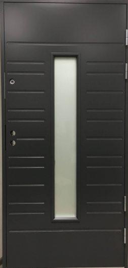 Изображение Входная дверь Jeld-Wen модель FUNCTION F1896 W28 ARCTIC Темно-серая