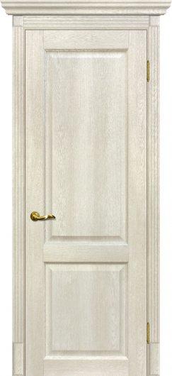 Изображение Межкомнатная дверь с эко шпоном Мариам Тоскана - 1 Бьянко глухая