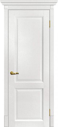 Изображение Межкомнатная дверь с эко шпоном Мариам Тоскана - 1 Пломбир глухая