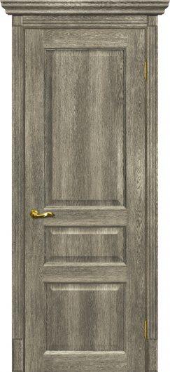Изображение Межкомнатная дверь с эко шпоном Тоскана - 2 Гриджио глухая